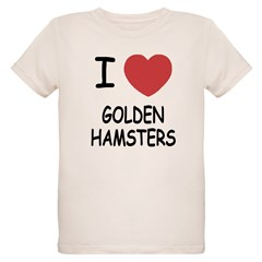 I heart golden hamsters T-Shirt