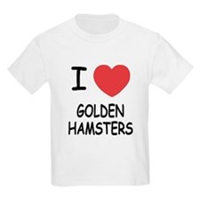 I heart golden hamsters T-Shirt