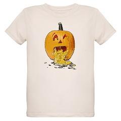 Pumpkin throwing up seeds T-Shirt