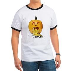 Pumpkin throwing up seeds T