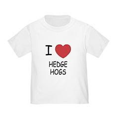 I heart hedgehogs T