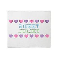 Sweet JULIET Throw Blanket