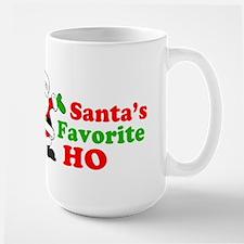 Santa's Favorite Ho Large Mug