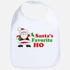 Santa's Favorite Ho Bib