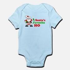 Santa's Favorite Ho Infant Bodysuit