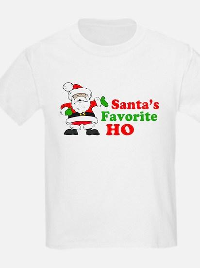 Santa's Favorite Ho T-Shirt