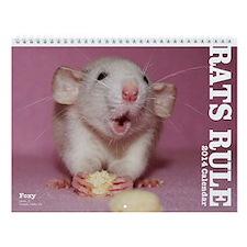2014 Rats Rule Wall Calendar
