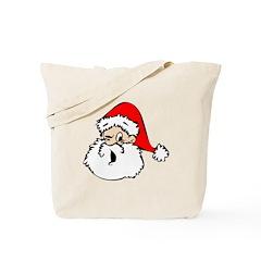 Santa Wink Tote Bag