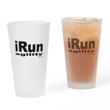 iRun agility B/w Drinking Glass