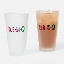 Agility Math Drinking Glass