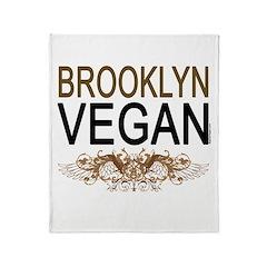 Brooklyn Vegan Throw Blanket