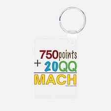 MACH formula Keychains