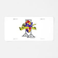 Super Doggie Jump Aluminum License Plate