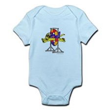 Super Doggie Jump Infant Bodysuit