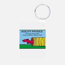 Agility Physics Keychains
