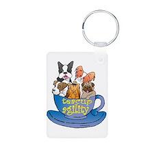 Teacup Agility Keychains