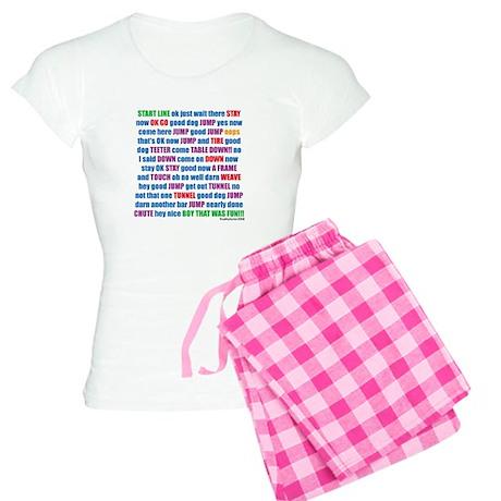 An Agility Run Women's Light Pajamas