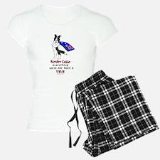 Super Border Collie- black Pajamas