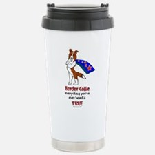Super Border Collie - everyth Stainless Steel Trav
