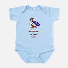 Super Border Collie - everyth Infant Bodysuit