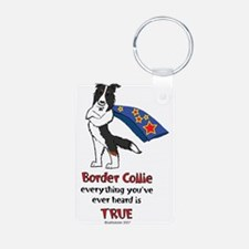 Super Border Collie- Tri Keychains