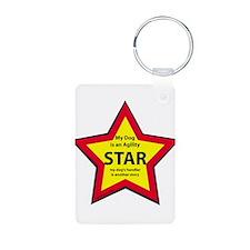 Agility Star Keychains