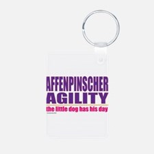 Affenpinscher Agility Keychains