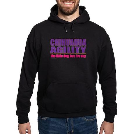Chihuahua Agility Hoodie (dark)