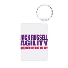 Jack Russell Agility Keychains