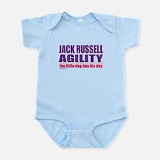 Jack Russell Agility Infant Bodysuit