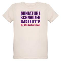 Miniature Schnauzer Agility T-Shirt