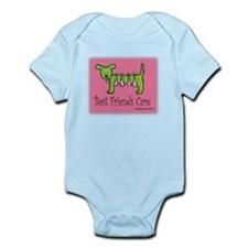 Breast Cancer Awareness Dog Infant Bodysuit