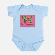 Breast Cancer Awareness Dog Infant Bodysuit