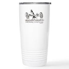Sheep Herding Travel Coffee Mug