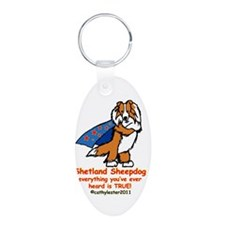 Sable Super Sheltie Keychains