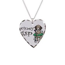 Winey GSP Necklace Heart Charm