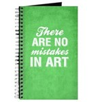 No Mistakes In Art Journal