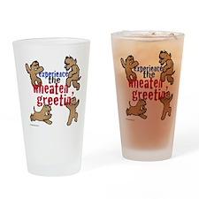 Wheaten Greetin' Drinking Glass