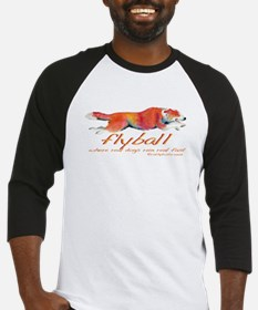 Real dogs Real fast Baseball Jersey