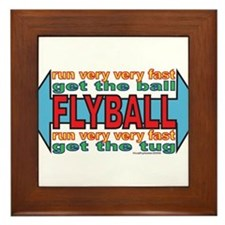 All About FLYBALL Framed Tile