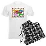 Herd 'o Dogs Men's Light Pajamas