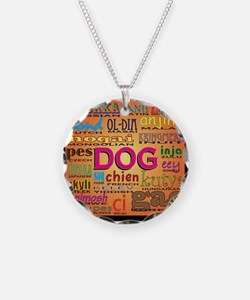 DOG in every language Necklace
