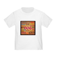 DOG in every language T