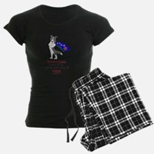 Blue Merle Super Border Colli Pajamas