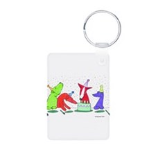 Party Dogs Keychains