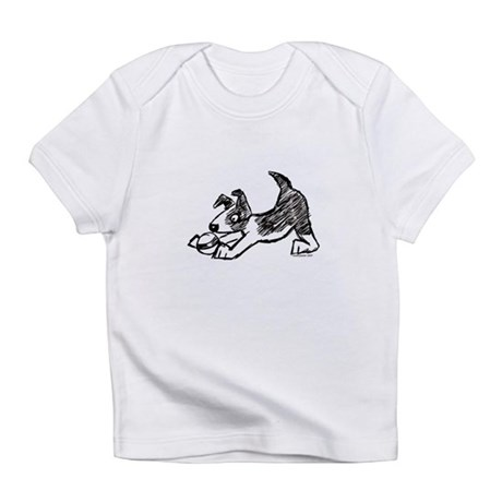Dog Playing With Ball Infant T-Shirt