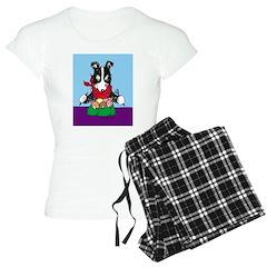 Border Collie dinner Pajamas