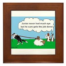 Junior Herds Framed Tile