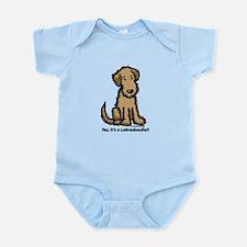 Labradoodle puppy Infant Bodysuit