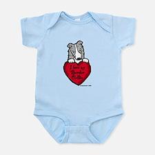 Border Collie (blue merle) Lo Infant Bodysuit